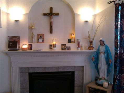 Home Altar Catholic, Alters And Plant Rooms