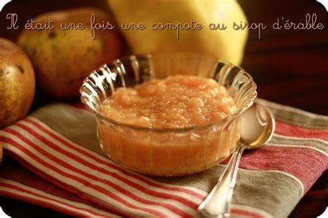 compote de coing au sirop d 233 rable pour un dessert d automne paperblog