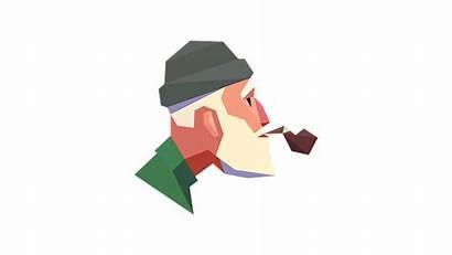 Ancient Cigarette Grandfather Smoking Smoke Havana Cuba