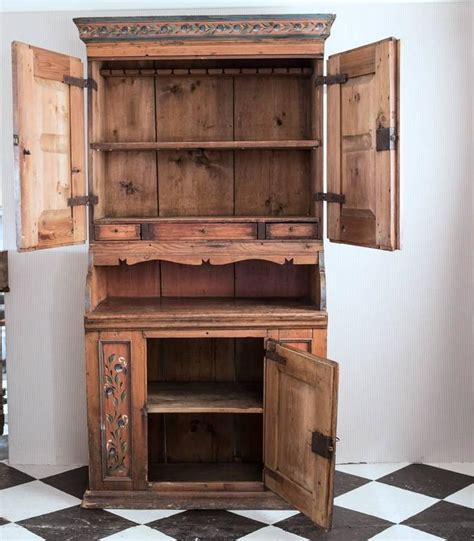 photos of painted kitchen cabinets cabinet 19th century original paint sweden for at 1stdibs 7426