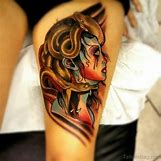 Beautiful Medusa Tattoo | 600 x 600 jpeg 50kB