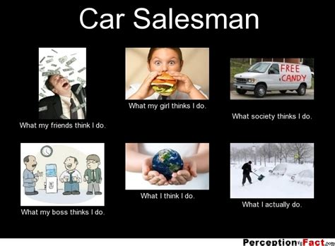Funny Car Quotes Car Salesman