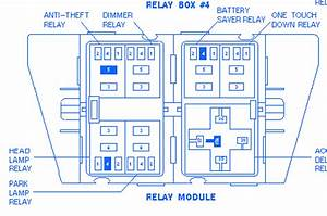Ford Explorer Xlt 1998 Fuse Box  Block Circuit Breaker