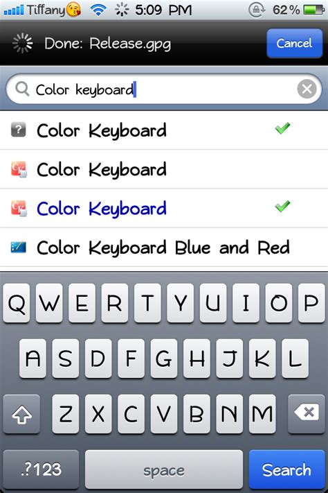 how to change iphone keyboard how to change iphone keyboard to p i n k or