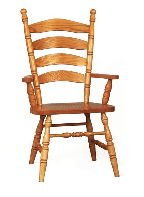 colonial ladderback arm chair amish traditions wv