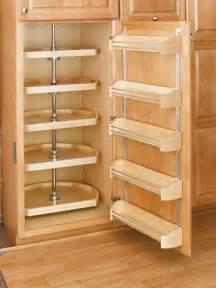 22 quot d shape pantry lazy susan wood five shelf set
