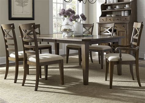 Liberty   382 DR O7RLS Hearthstone Dining Room Set