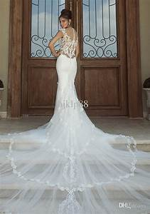 2014 hot new sexy mermaid embroidery applique galia lahav With wedding dresses 2014 online