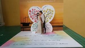pop up wedding invitations sansalvajecom With pop up beach wedding invitations