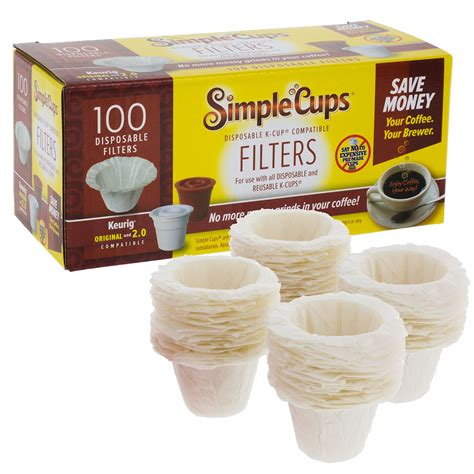 Keurig k145 officepro brewing system, 14 pound. 100 Disposable Filters for Keurig K Cups Brewers Simple Cups Replacement Filters | eBay