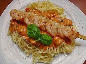 Pasta Mit Garnelen : pasta mit garnelen rezept mit bild von jamminani ~ Orissabook.com Haus und Dekorationen