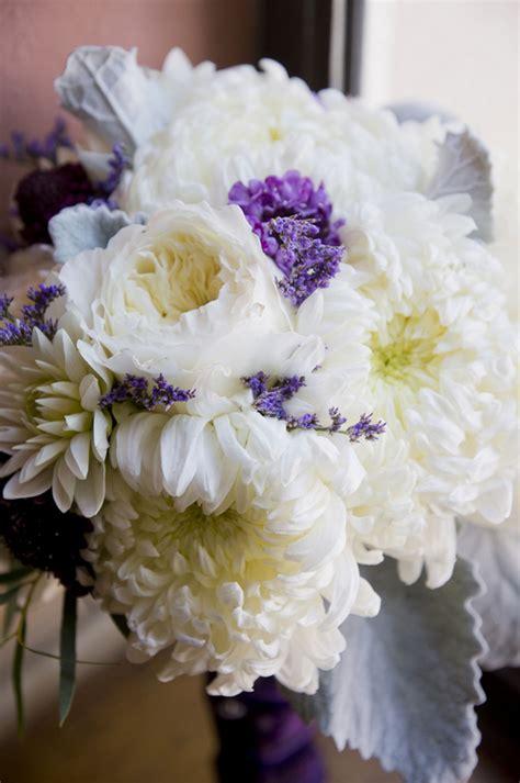 lovely purple  gray diy wedding peterson photography