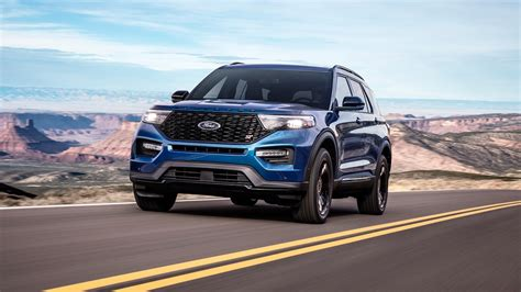 Ford St 2020 Motor Ausstattung by 2020 Ford Explorer St Review Performance Comes Standard