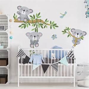 Sticker Für Die Wand Kinderzimmer : wandtattoo kinderzimmer koala set ~ Michelbontemps.com Haus und Dekorationen