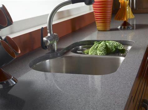 Grey Corian Countertops by Zodiaq 174 Grey Countertop Traditional Kitchen