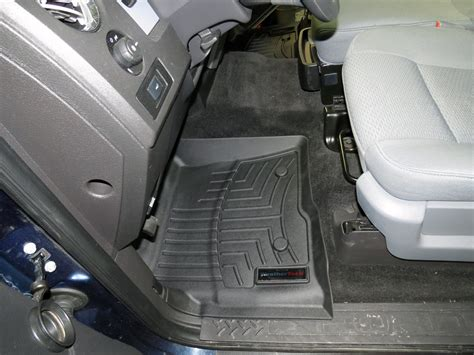 2014 F 150 Weathertech Floor Mats by 2014 Ford F 150 Floor Mats Weathertech