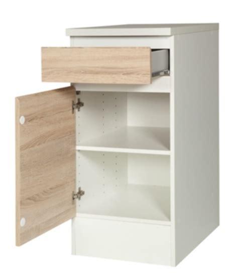 meuble cuisine largeur 55 cm meuble de cuisine en kit pas cher but fr