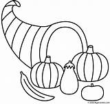 Coloring Horn Plenty Thanksgiving Horns Fall Autumn Template Printable Bigactivities Drawings Sketch Designlooter Activity 52kb 1085px 1142 sketch template