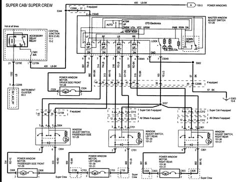 What The Wiring Diagram For Power Windows