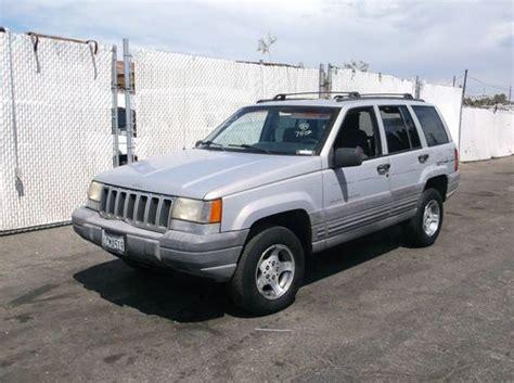 jeep cherokee orange buy used 1998 jeep grand cherokee no reserve in orange