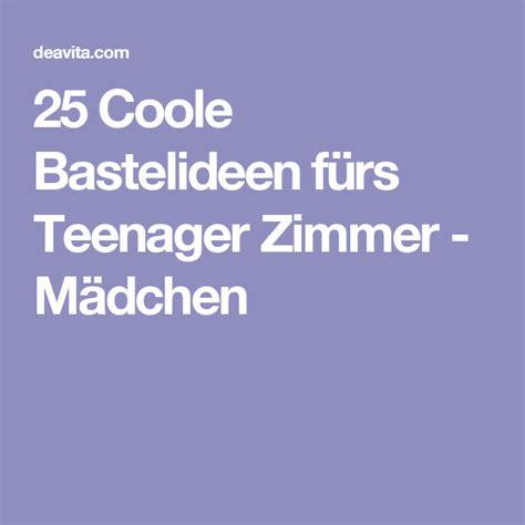 25 Coole Bastelideen Fürs Teenager Zimmer  Mädchen Diy