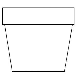 flower pot template flower pot template template business
