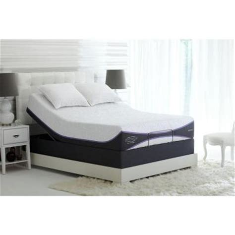 sealy adjustable beds sealy posturepedic reflexion up adjustable size