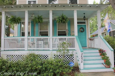Cottage Porch by Coastal Cottage Dreams And Front Porch Starfish Cottage
