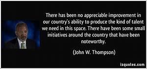 John W. Thompson Quotes. QuotesGram