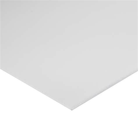 suntuf 900 x 600 3mm flat white acrylic sheet bunnings