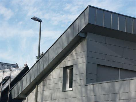 Dachüberstand Verkleiden Zink by Zink Stehfalz Details Zink Stehfalz Dachdecker Ewald