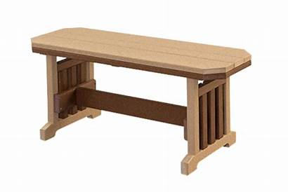 Mission Furniture Bench Benches Dining Vista Rio
