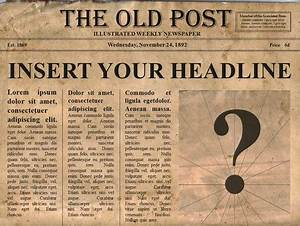 free editable old newspaper powerpoint template With revolutionary war newspaper template