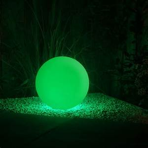Colour Box Design Round 40 Remote Led Garden Ball Light Multifunction