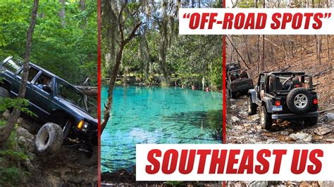top  offroad  trails   southeast youtube