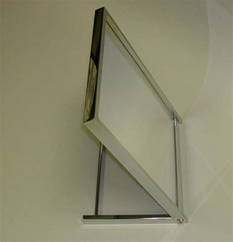 floor mirror for shoes shoe fitting floor mirror 13 quot w x 17 quot h rectangular frame chrome lot of 1 new