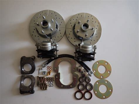 1964 1965 1966 Mustang Disc Brake Conversion Front And