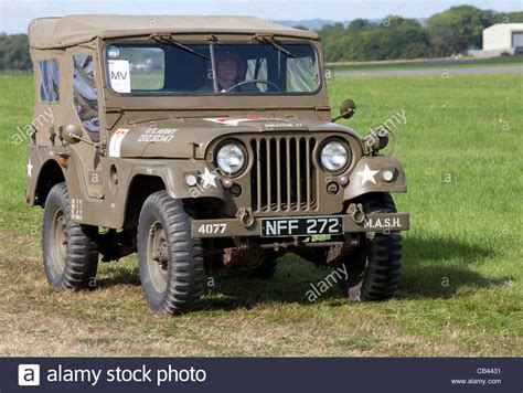 Willy's Jeep M38a1 1956 In The Military Parade At Dunsfold