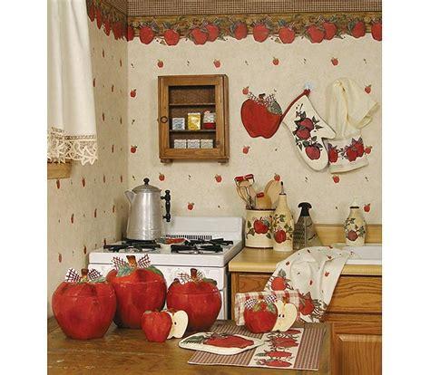 kitchen decor theme ideas blonder home country apple kitchen decorating theme my