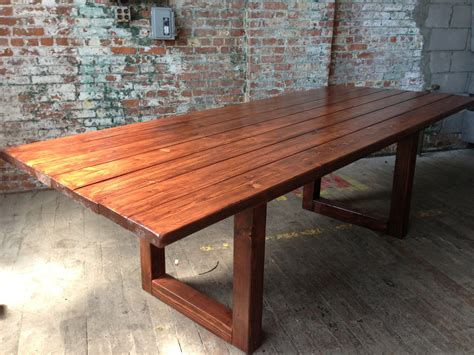 rustic wood table ls rustic wood dining conference table