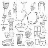 Wind Chime Clip Vector Illustrations Sketches Drum sketch template