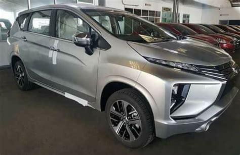 mitsubishi xpander expander  beige interior spotted
