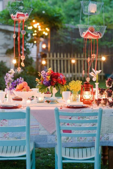 Gartenparty Tischdeko Sommer by Fantastische Deko Ideen F 252 R Eine Gartenparty