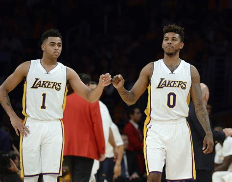 d angelo russell apologizes for recording nick young i feel sick video slamonline