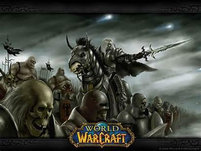 Warcraft Wallpapers Desktop Bonewallpaper Wow Arthas Undead