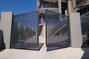 Portail Coulissant En Pente : portail battant en pente 20170826184021 ~ Premium-room.com Idées de Décoration