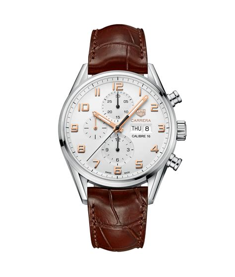 Tag Heuer Carrera Calibre 16 Automatic Chronograph 43 Mm