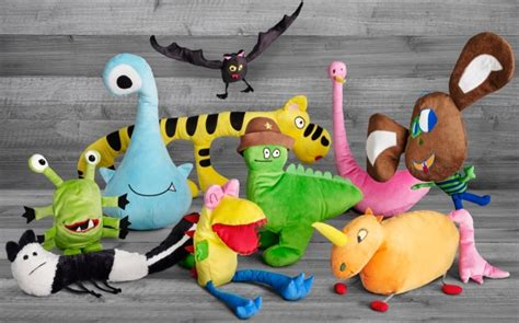 ikea turns childrens drawings     plush toys