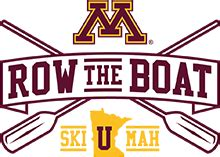 Row The Boat Minnesota Logo by Gophersports Gameday Central Live Official