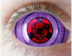 Rinnegan Contacts – Full Eye, Purple, Rinnegan Sclera ...